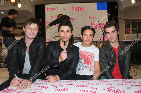 The Stereophonics - Richard Jones, Adam Zindani, Javier Weyler and Kelly Jones