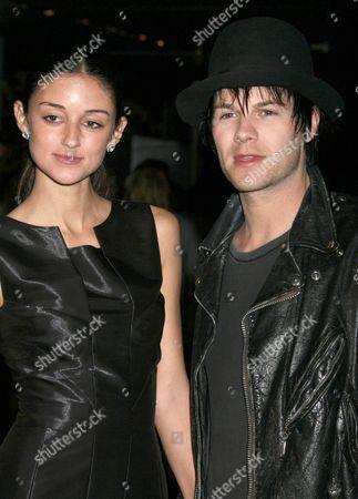 Caroline D'Amore and Bobby Alt