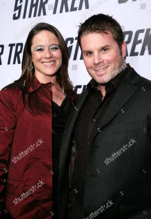 Heidi van Lydegraf and Eugene Wesley Roddenberry Jr
