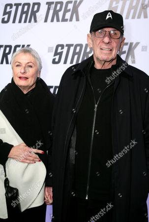 Leonard Nimoy and wife Susan Day
