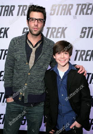 Zachary Quinto and Jacob Kogan