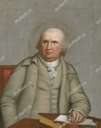 Robert Morris, by Robert Edge Pine, c. 1780-1790, American painting, oil on canvas. Robert Morris was a business man who served as the United States Superintendent of Finance from 1781 to 1784. Morris, Alexander Hamilton and Albert Gallatin, founded the US financial system. He was later a Senator form Pennsylvania from 1789 to 1796