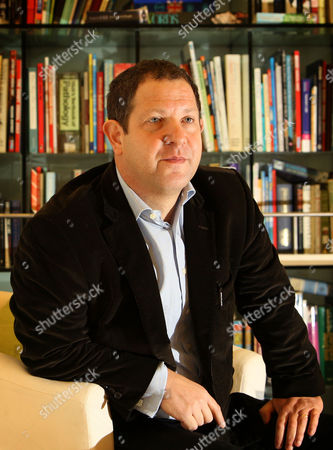Political journalist and former editor of political magazine 'New Statesman', John Kampfner, at his offices in London