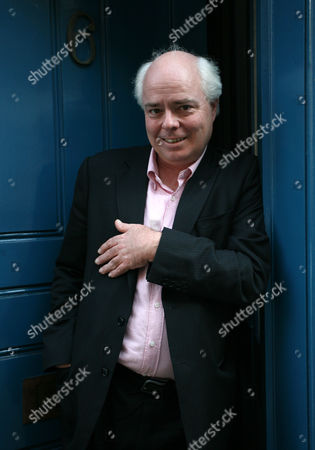 Deputy editor of 'Private Eye' magazine, Francis Wheen, at the publications' offices in London