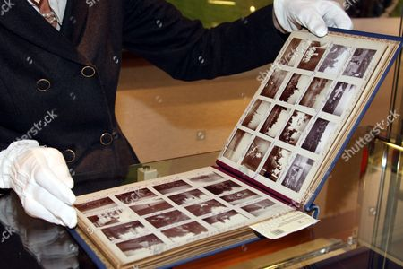 Photo album, dating from from the late 19th century