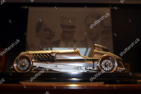 Silver model of a Bentley Jackson owned by Prince Michael of Kent being sold in aid of SSAFA