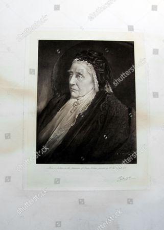 Print of Queen Victoria