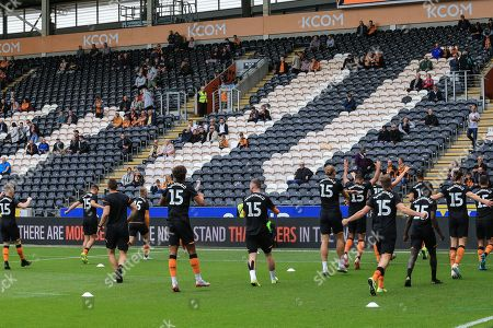 Editorial picture of Hull City v Wigan Athletic, EFL Sky Bet Championship, Football, KCOM Stadium, Hull, UK - 14 Sep 2019