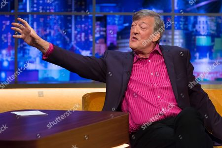Editorial picture of 'The Jonathan Ross Show' TV show, Series 15, Episode 1, London, UK - 14 Sep 2019