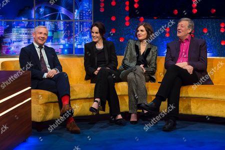 Martin Freeman, Michelle Dockery, Elizabeth McGovern and Stephen Fry