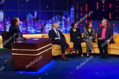 Jonathan Ross, Martin Freeman, Michelle Dockery, Elizabeth McGovern and Stephen Fry
