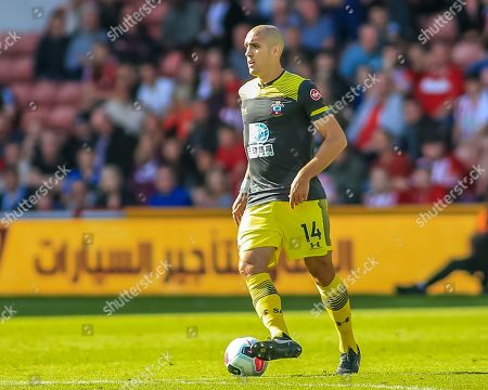 14th September 2019 , Bramall Lane, Sheffield, England; Premier League Football, Sheffield United vs Southampton ; Oriol Romeu (14) of Southampton during the game