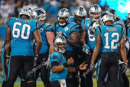 Editorial photo of Tampa Bay Buccaneers v Carolina Panthers, NFL, American Football, Bank of America Stadium, North Carolina, USA - 12 Sep 2019