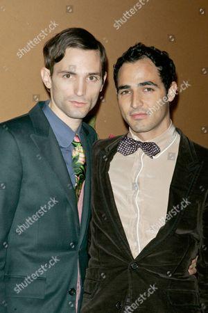 Stock Photo of Christopher Niquet and Zac Posen