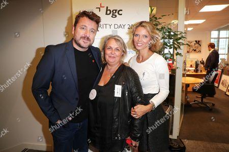 Stock Photo of Bruno Guillon, Valerie Damidot, Sylvie Tellier