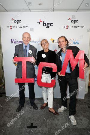 Editorial photo of Aurel BGC Annual Global Charity Day, Paris, France - 11 Sep 2019