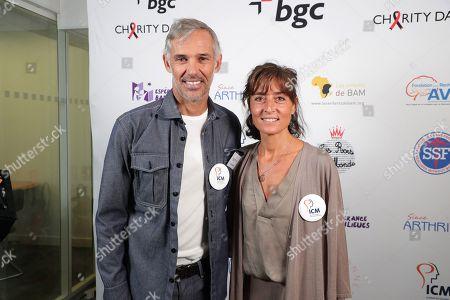 Paul Belmondo, Nathalie Iannetta