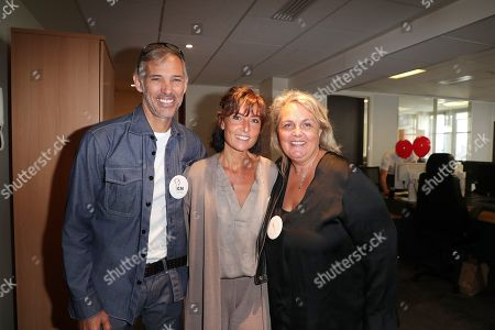 Stock Photo of Paul Belmondo, Nathalie Iannetta, Valerie Damidot