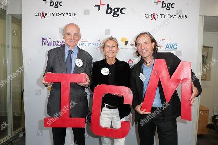 Gerard Saillant, Claire Chazal, Philippe Candelero