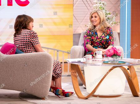 Lorraine Kelly and Tracy-Ann Oberman