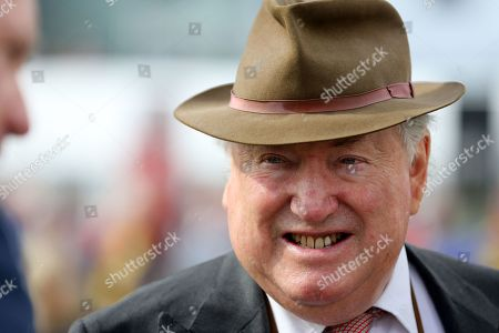 Racehorse Owner Anthony Oppenheimer during the second day of the St Leger Festival at Doncaster Racecourse, Doncaster