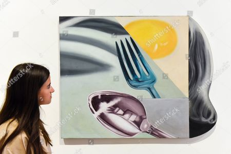 Editorial picture of James Rosenquist exhibition preview, London, UK - 10 Sep 2019