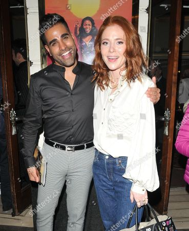 Stock Picture of Dr Ranj and Angela Scanlon