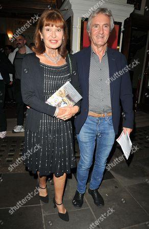Stephanie Beacham and Bernie Greenwood