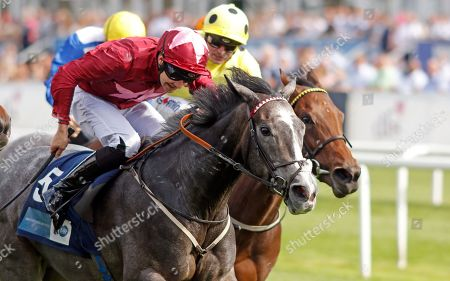 GRACEFUL MAGIC (Charles Bishop) wins The British Stallion Studs EBF Carrie Red Fillies Nursery Doncaster