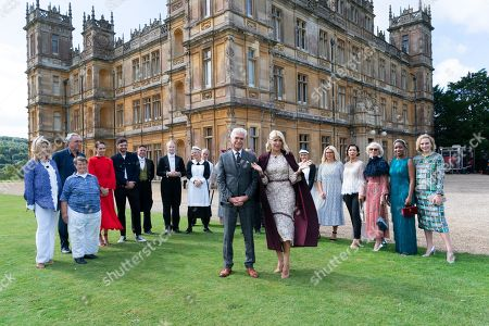 Editorial image of 'This Morning' TV show, Highclere Castle, Hampshire, UK - 12 Sep 2019