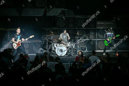 Blink-182 - Mark Hoppus, Travis Barker, Matt Skiba