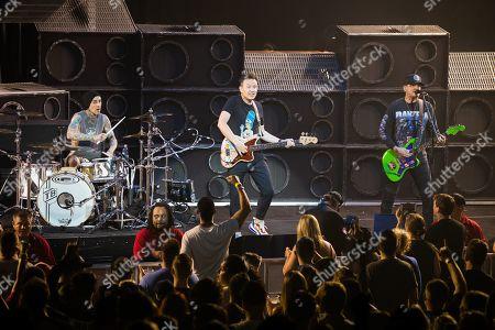 Blink-182 - Travis Barker, Mark Hoppus, Matt Skiba