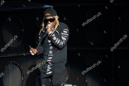 Editorial photo of Lil Wayne in concert, DTE Energy Music Theatre, Clarkston, USA - 10 Sep 2019