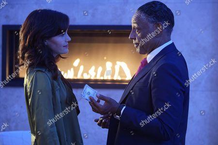 Carla Gugino as Daisy 'Jett' Kowalski and Giancarlo Esposito as Charlie Baudelaire