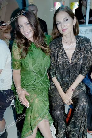 Lisa Snowdon and guest
