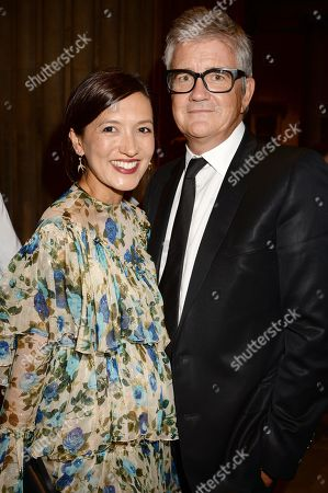 Hikari Yokoyama and Jay Jopling in the front row