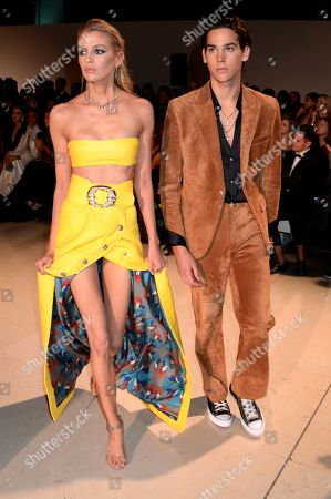 Stella Maxwell and Paris Brosnan on the catwalk