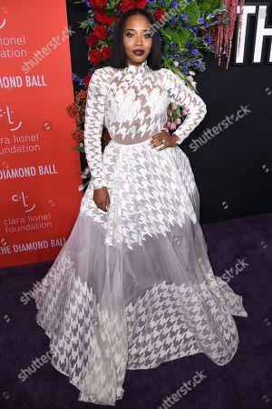 Editorial photo of 5th Annual Clara Lionel Foundation Diamond Ball, Arrivals, Cipriani Wall Street, New York, USA - 12 Sep 2019