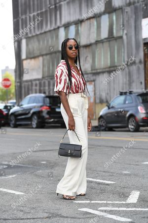 Editorial photo of Street Style, Spring Summer 2020, New York Fashion Week, USA - 11 Sep 2019