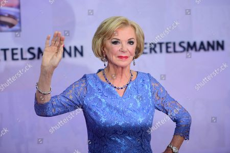 German businesswoman and philanthropist Liz Mohn attends the red carpet of the Bertelsmann party 2019 in Berlin, Germany, 12 September 2019. More than 600 guests from oll fields of society are invited for the Bertelsmann Party 2019.