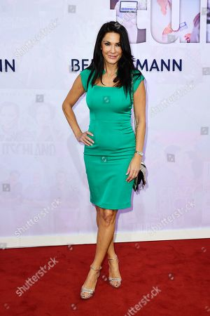 German actress Mariella Ahrens attends the red carpet of the Bertelsmann party 2019 in Berlin, Germany, 12 September 2019. More than 600 guests from all fields of society are invited for the Bertelsmann Party 2019.