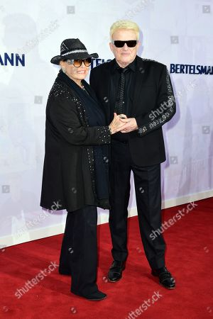 German musician Heinz Georg Kramm (R) and his wife Hannelore Kramm attend the red carpet of the Bertelsmann party 2019 in Berlin, Germany, 12 September 2019. More than 600 guests from all fields of society are invited for the Bertelsmann Party 2019.