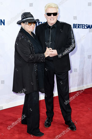 German musician Heinz-Georg Kramm aka Heinz Georg Kramm (R) and his wife Hannelore Kramm attends the red carpet of the Bertelsmann party 2019 in Berlin, Germany, 12 September 2019. More than 600 guests from all fields of society are invited for the Bertelsmann Party 2019.