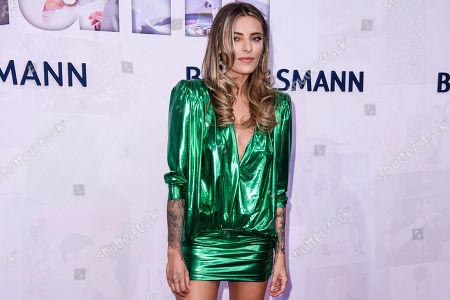 German actress Sophia Thomalla attends the red carpet of the Bertelsmann party 2019 in Berlin, Germany, 12 September 2019. More than 600 guests from all fields of society are invited for the Bertelsmann Party 2019.