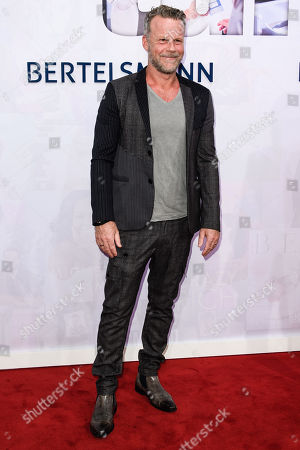 Stock Picture of German journalist Jenke von Wilmsdorff attends the Bertelsmann Party 2019 in Berlin, Germany, 12 September 2019 (issued 13 September 2019). More than 600 guests from all fields of society were invited to the event.