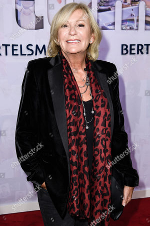 Stock Image of German anchorwoman Sabine Christiansen attends the Bertelsmann Party 2019 in Berlin, Germany, 12 September 2019 (issued 13 September 2019). More than 600 guests from all fields of society were invited to the event.