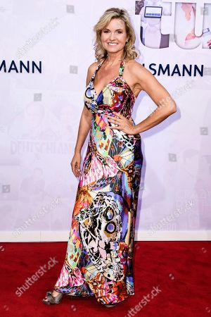 German TV presenter Carola Ferstl attends the Bertelsmann Party 2019 in Berlin, Germany, 12 September 2019 (issued 13 September 2019). More than 600 guests from all fields of society were invited to the event.