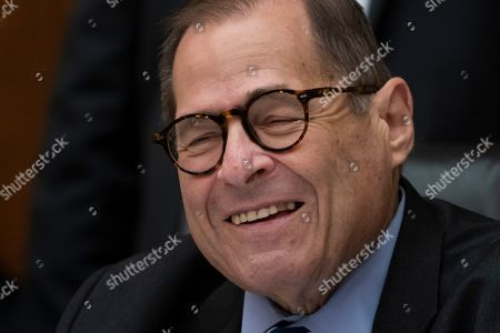 House Judiciary Committee Chairman Jerrold Nadler, D-N.Y., leads his panel to approve guidelines for impeachment investigation hearings on President Donald Trump, on Capitol Hill in Washington
