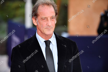 Stock Image of Vincent Lindon arrives on the red carpet prior to the premiere of 'Une vie cachee' during the 45th Deauville American Film Festival, in Deauville, France, 12 September 2019. The festival runs from 06 to 15 September 2019.
