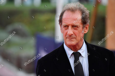 Vincent Lindon arrives on the red carpet prior to the premiere of 'Une vie cachee' during the 45th Deauville American Film Festival, in Deauville, France, 12 September 2019. The festival runs from 06 to 15 September 2019.